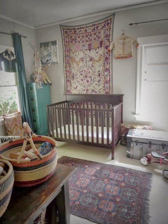 D coration chambre b b boh me - Decoratie murale chambre bebe ...