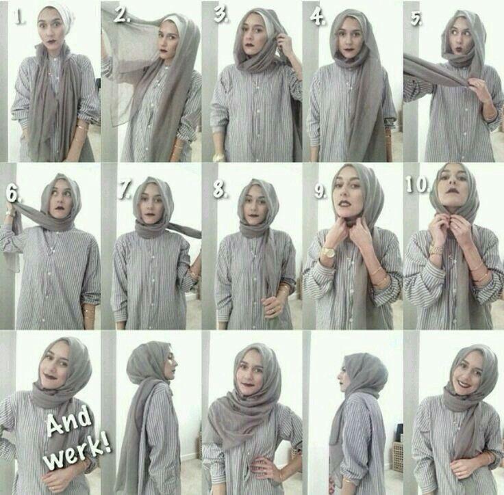 Şal baglama..hijap
