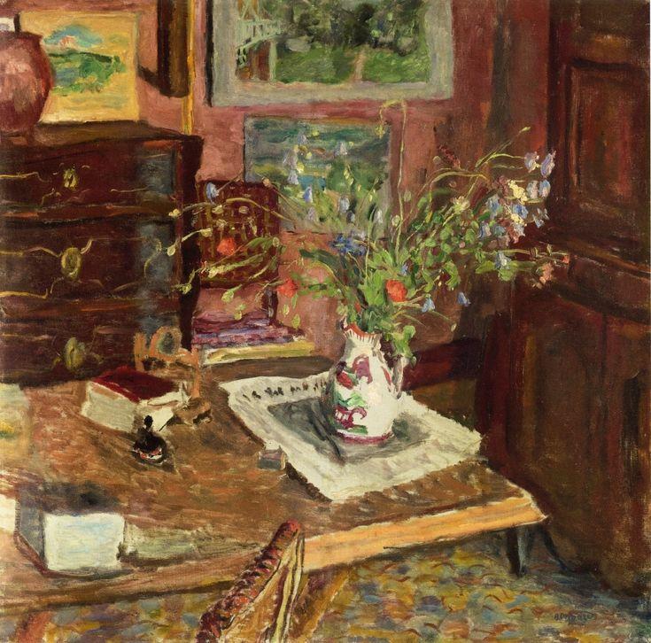 ◇ Artful Interiors ◇ paintings of beautiful rooms - Pierre Bonnard