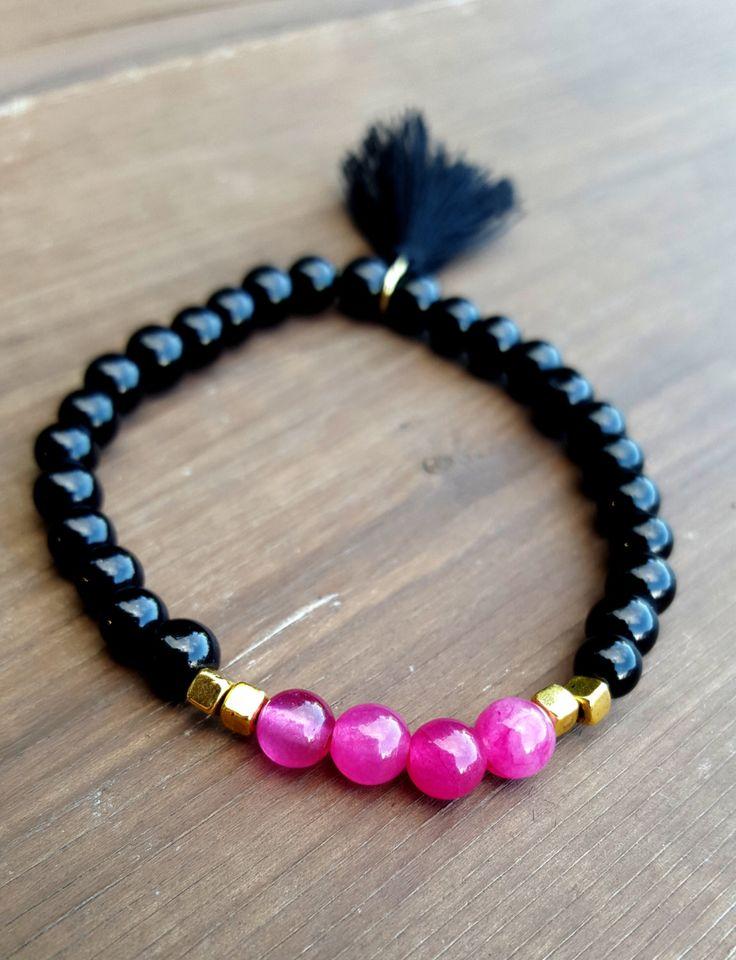 Bracelet | Perle | Tassel | Pompom | Boho | Semi Précieuse | Made With Hope…