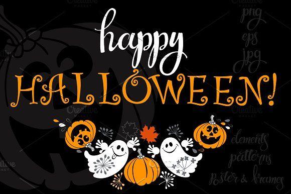 Happy Halloween. by maritime_m on @creativemarket
