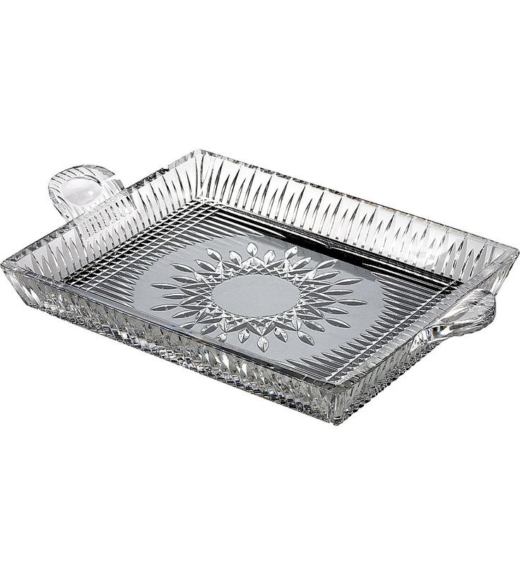 WATERFORD - Lismore Diamond serving tray | Selfridges.com
