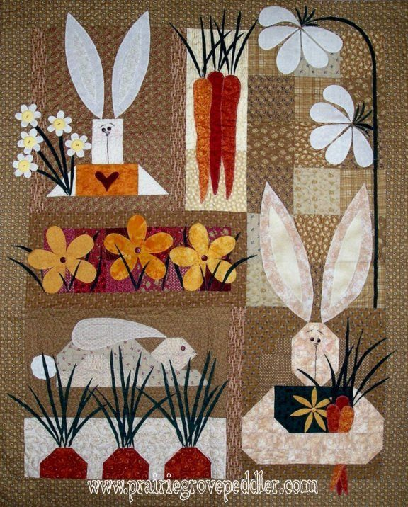 Prairie Grove Peddler Spring and Summer Quilts