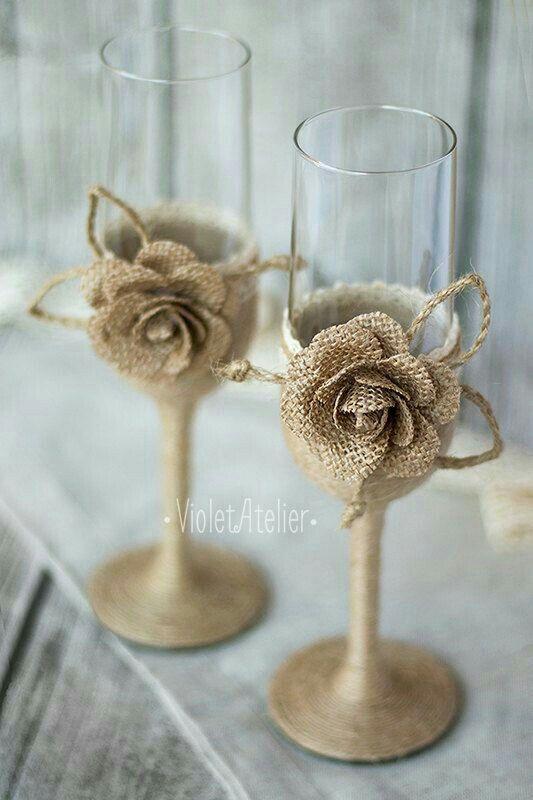 Pin By شما المرزوقي On أكواب Rustic Wedding Glasses