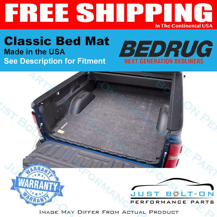 Details About Bedmat Spray In No Bed Liner Fits 2009 2018 Ram 5 7
