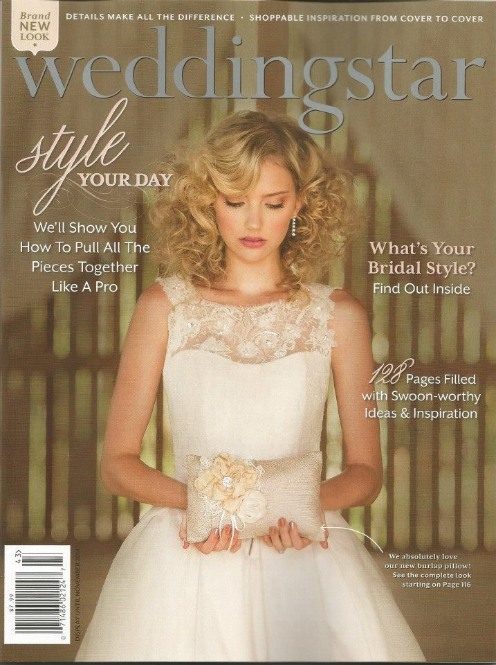 Cambium Farms featured on the cover of Weddingstar magazine!