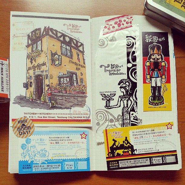 Midori Traveler's notebook instagram @forever101422 | Websta