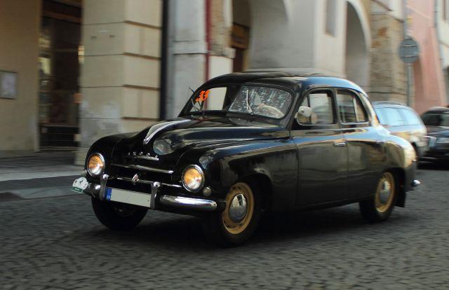 1957 Škoda 1201 Sedan