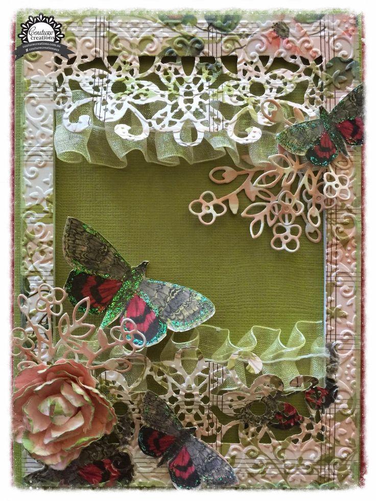 Couture Creations: 2015 Design Team Introducing Anita Enright | #couturecreationsaus #cards #decorativedies #embossingfolders #vintagerosegarden