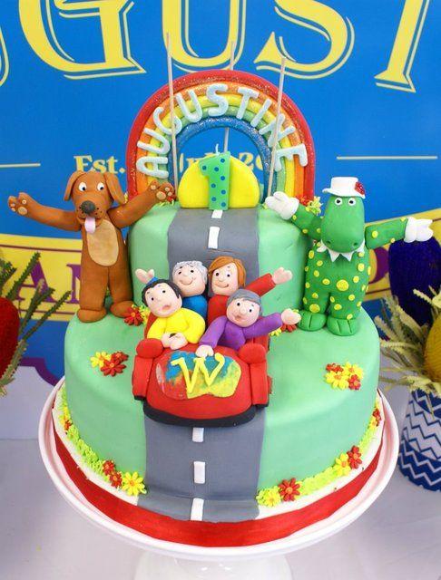 Wiggles Cake #wiggles #cake