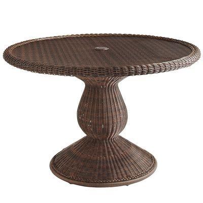 """Sunset Pier Round Table -  Chestnut Brown 48"""""""