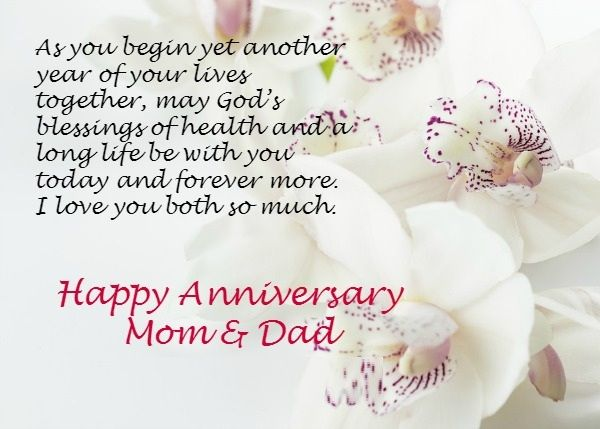 Anniversary Wishes For Mom and Dad With Lovely Images | Happy marriage anniversary, Happy anniversary parents, Happy anniversary wishes