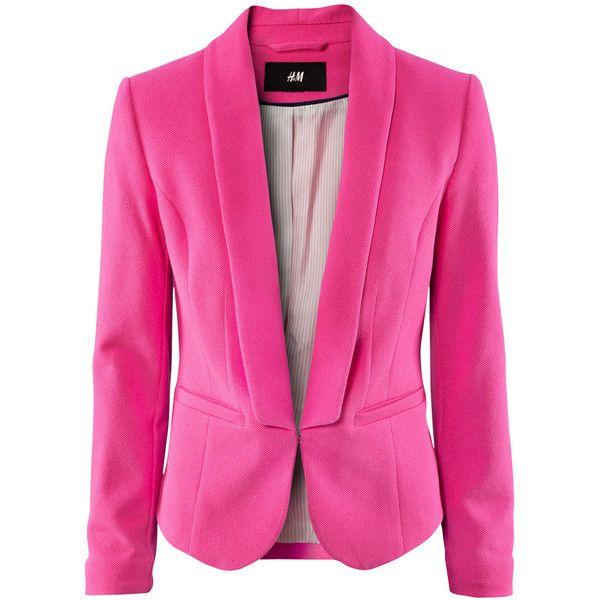 Pink Blazer Jacket