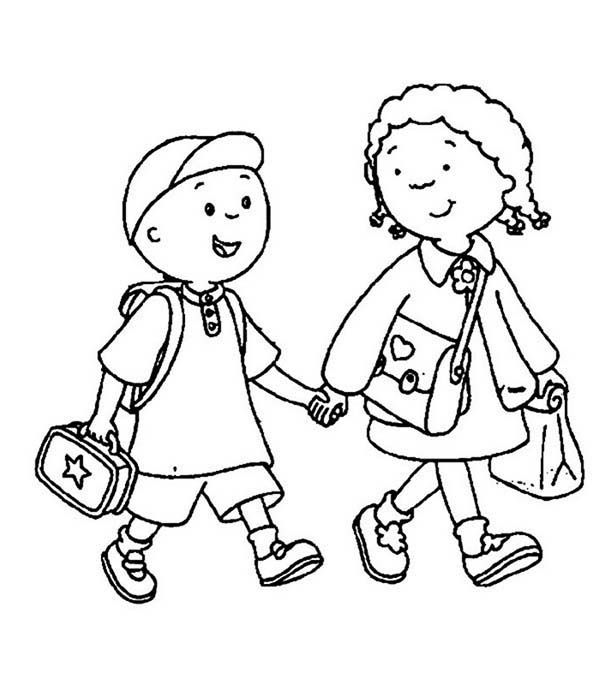 First Day of School, : A Brother and Sister on Their First