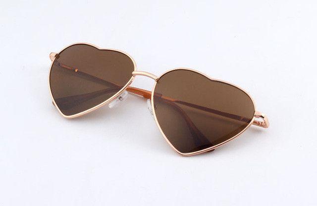 "Womens ""Love"" Heart Shaped Sunglasses Astroshadez"