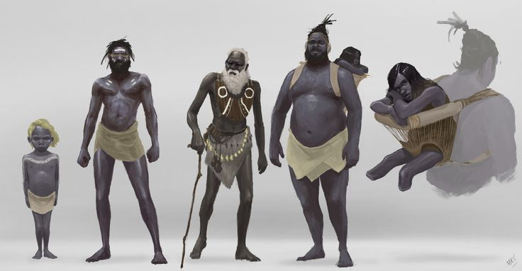 ArtStation - Max Clifford's submission on Ancient Civilizations: Lost & Found - Character Design