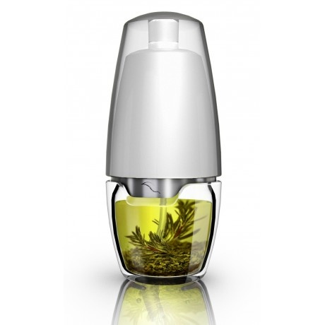 Preparo oilspray; use less oil og add some flavours to your oil.