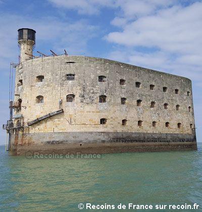Iles de France, Fort Boyard, îles d'Aix, Aunis, Charente Maritime