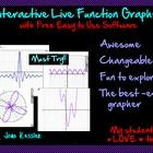 Awesome, easy to use,best ever presentation graphing tool! Enhance your classes with LIVE interactive math explorations and animations.  You and yo...