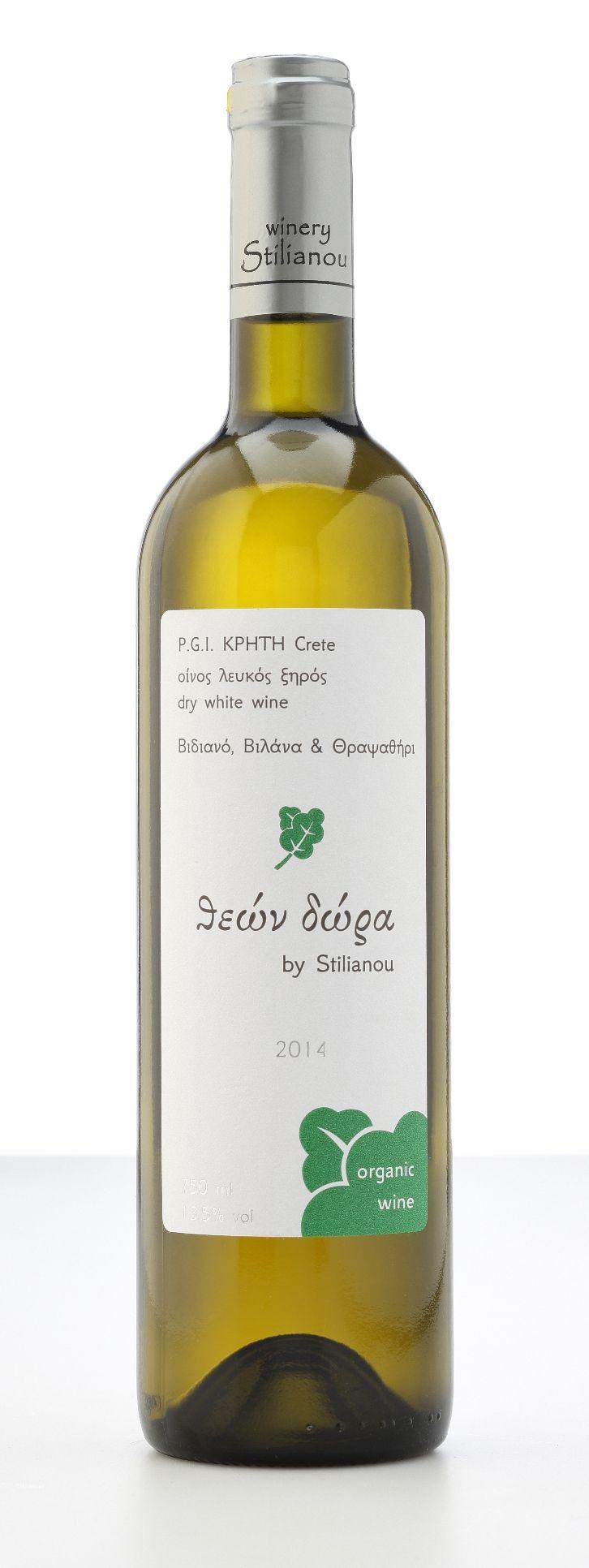 Theon Dora White Organic Wine Stilianou Winery