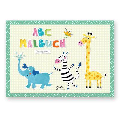 """Malbuch """"ABC der Tiere"""" im DIN A5 und DIN A7 Format von #NastjaHoltfreter. #GrätzVerlag https://www.graetz-verlag.de/malbuch-abc-der-tiere"""