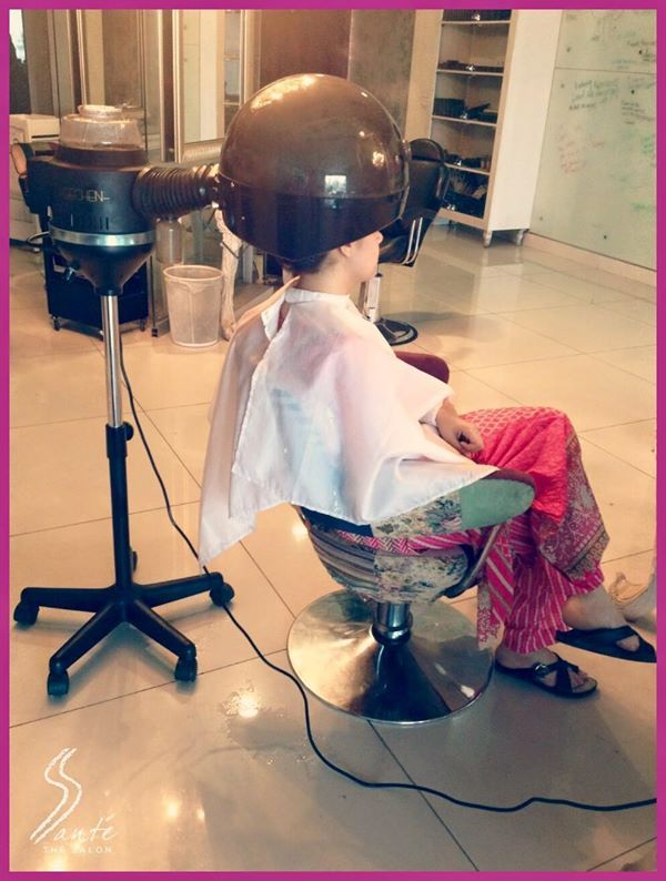Have you tried the #Conatural hair treatment at #Santè? #TheSalon #Lahore #Pakistan #Hair