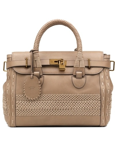 Gucci handmade large top handle bag taupe - $339