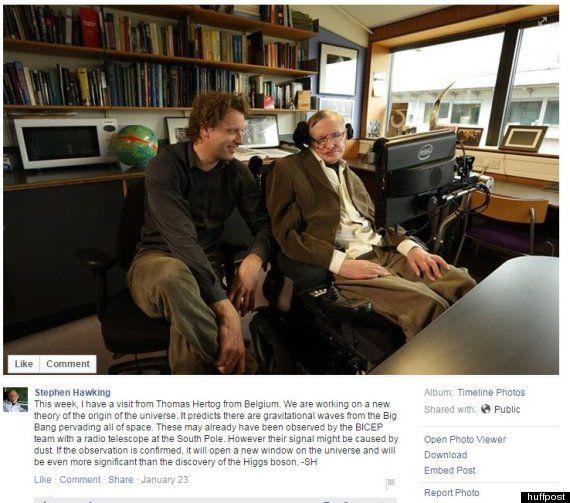 Ο Στίβεν Χόκινγκ δουλεύει πάνω σε μία νέα θεωρία για τη δημιουργία του σύμπαντος