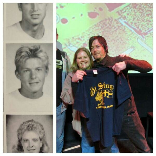 Bethany college, Kansas is very proud of Norman Reedus.