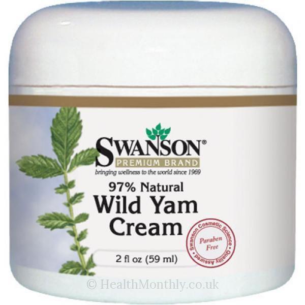 Does wild yam cream work