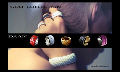 Love these! Ladies Fashion 2013:  - Jewelry with a golf twist