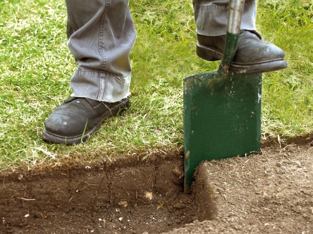 Dig Out Soil to Thickness of Paving
