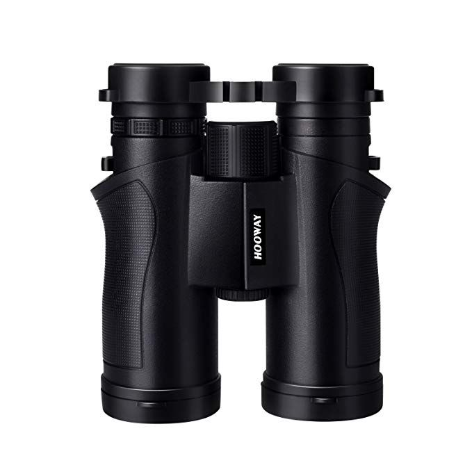 Hooway 8x42 Roof Prism Binoculars For Bird Watching Travelling Hunting Hiking Sports And Outdoor Activities Revie Binoculars Hiking Trip Outdoors Adventure