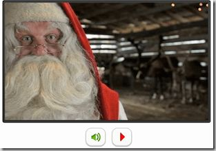 FREEbie:  Personalized Video Email From Santa!!