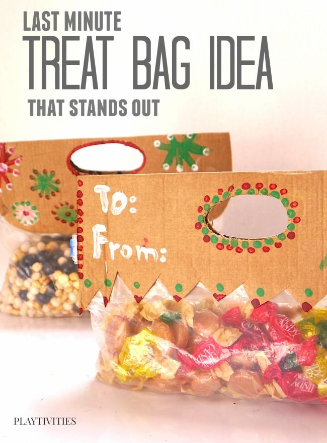 Homemade Gift Bag Toppers
