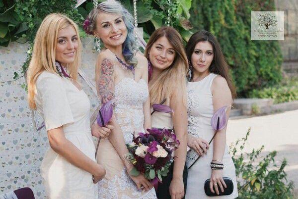 Сливовая свадьба.