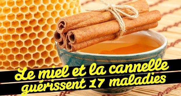Le miel et la cannelle (testé et approuvé!)