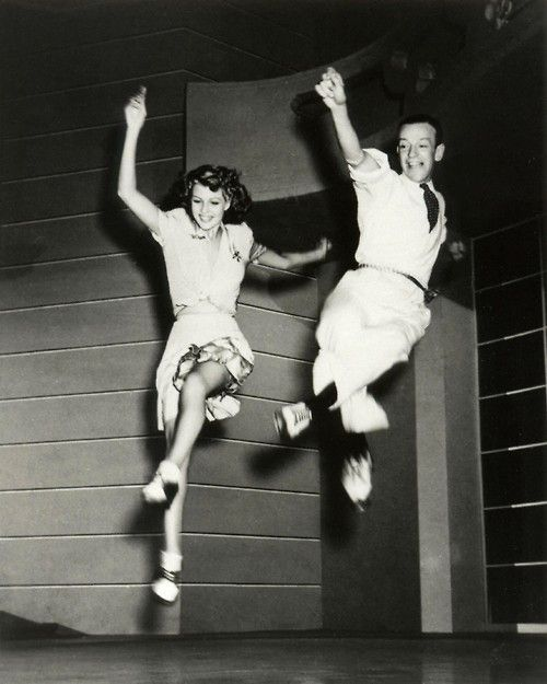 Oh Fred Astaire and Ginger Rogers!