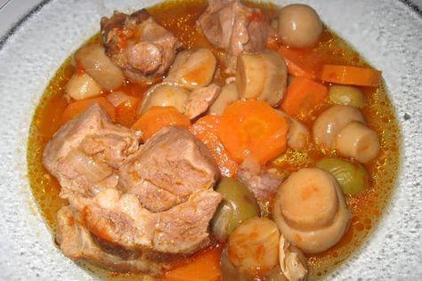 Recette de Sauté de porc en ragoût : la recette facile