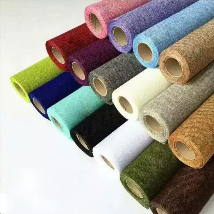 wholesale jute fabric roll