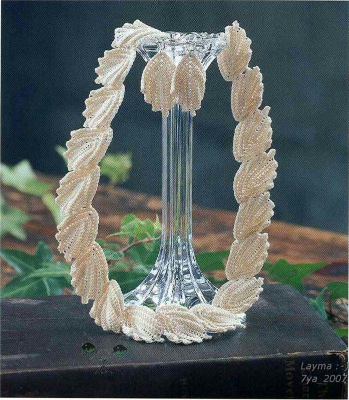 jewelry crochet pattern ~ make handmade - handmade - handicraft.   Diagram pattern tutorials