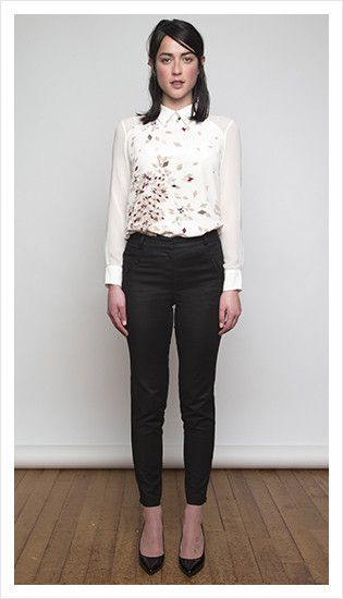 scottie blouse & jasper pant   winter 2014 collection   juliette hogan