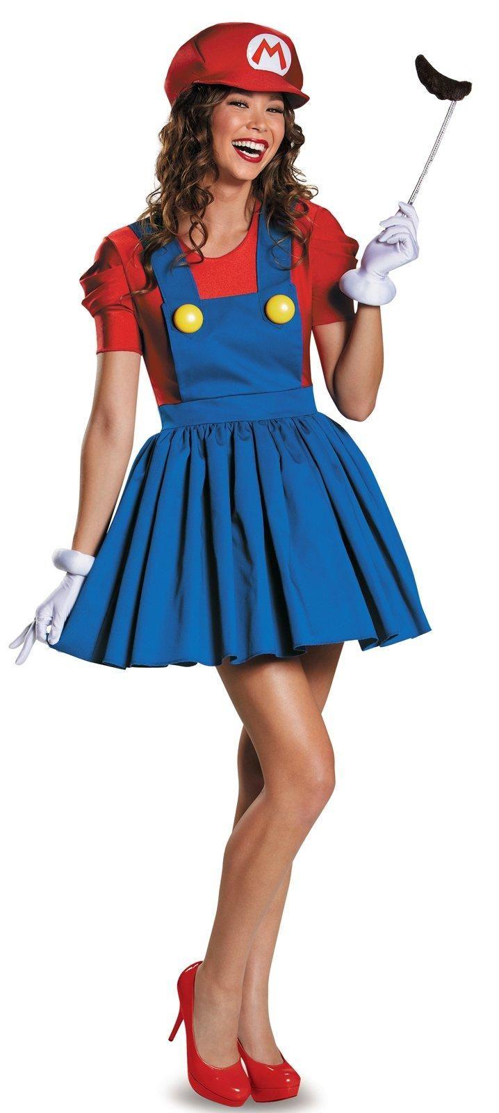 Super Mario: Mario w/Skirt Costume For Women from Buycostumes.com
