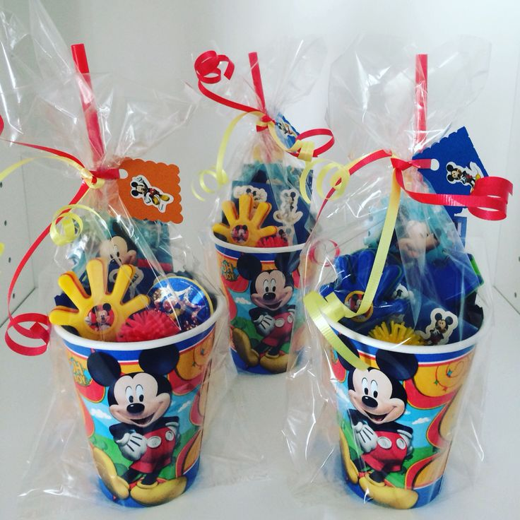 Mickey Mouse Party Favor Mickey Mouse Birthday Party Mickey Mouse Candy Mickey Mouse Ideas   https://www.etsy.com/listing/273348734/5-mickey-mouse-party-favorsmickey-mouse