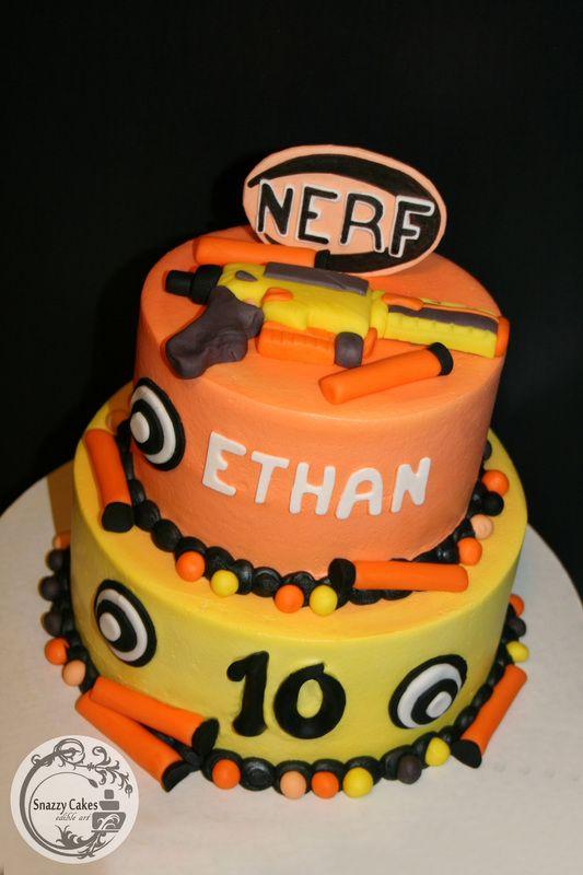 Best 25 Nerf gun cake ideas on Pinterest Nerf birthday party
