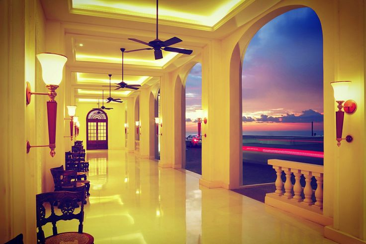 Take a look at this spectacular capture from the North Wing Entrance. #Gallefacehotel #Colombo #SriLanka