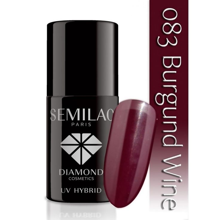 Ημιμόνιμο μανό Semilac - 083 Burgundy Wine 7ml - Semilac | Προϊόντα Μανικιούρ - Πεντικιούρ Semilac & Ημιμόνιμα.