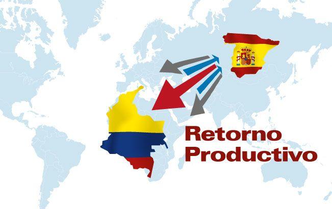 """Retorno de beneficiarios del programa de retorno productivo de emprendedores colombianos desde España  De acuerdo a lo establecido en el Convenio de Asociación suscrito por el Servicio Nacional de Aprendizaje - SENA, la Fundación Instituto Cameral para la Creación y Desarrollo de la Empresa - INCYDE y el Ministerio de Relaciones Exteriores, """"Programa de Retorno Productivo de Emprendedores Colombianos desde España"""""""