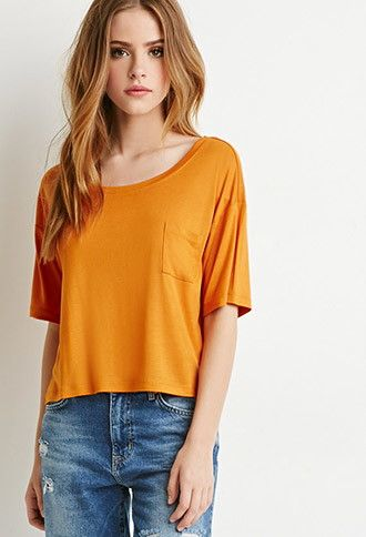 T-Shirt Coupe Droite | Forever 21 Canada