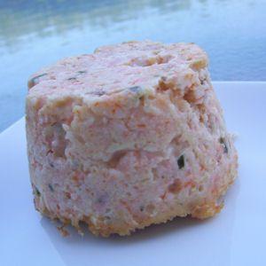 Légèreté Gourmandises: Flan de saumon et surimi (5 ProPoints)